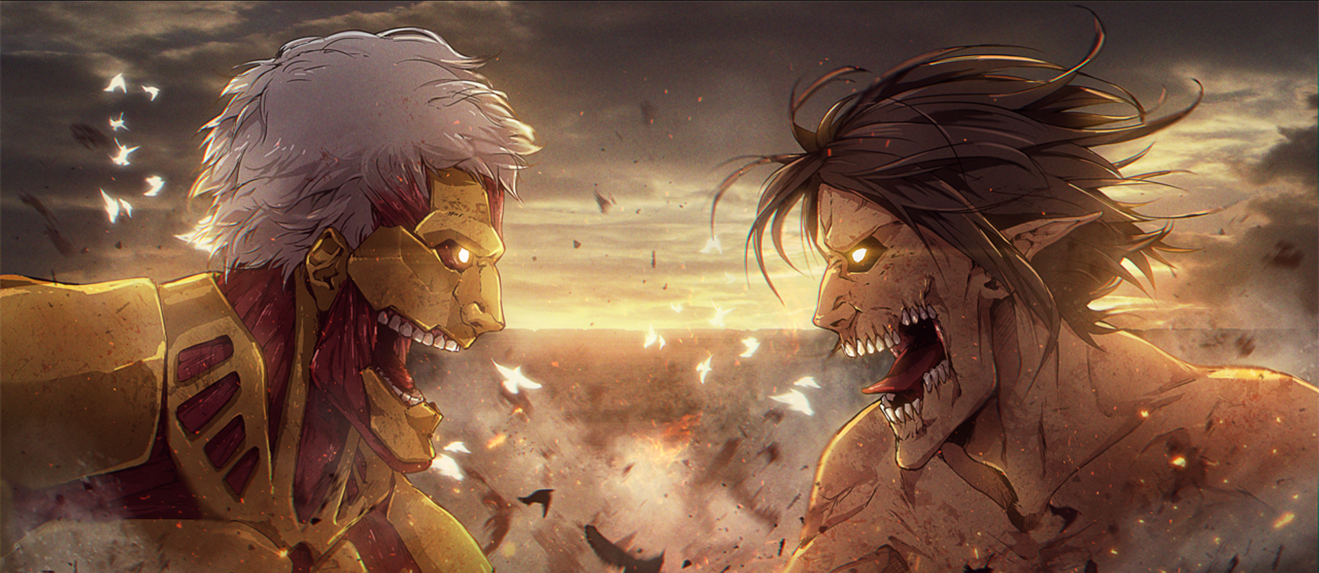أنمي Attack on Titan