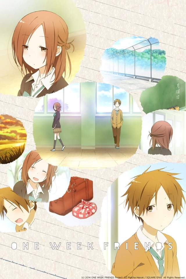 انمي Isshuukan Friends \ One Week Friends