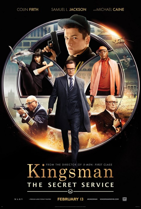 فيلم Kingsman The Secret Service - ملصق