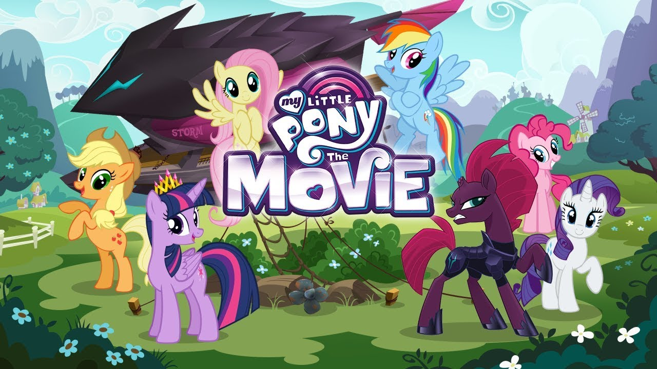 بوستر فيلم My Little Pony: The Movie