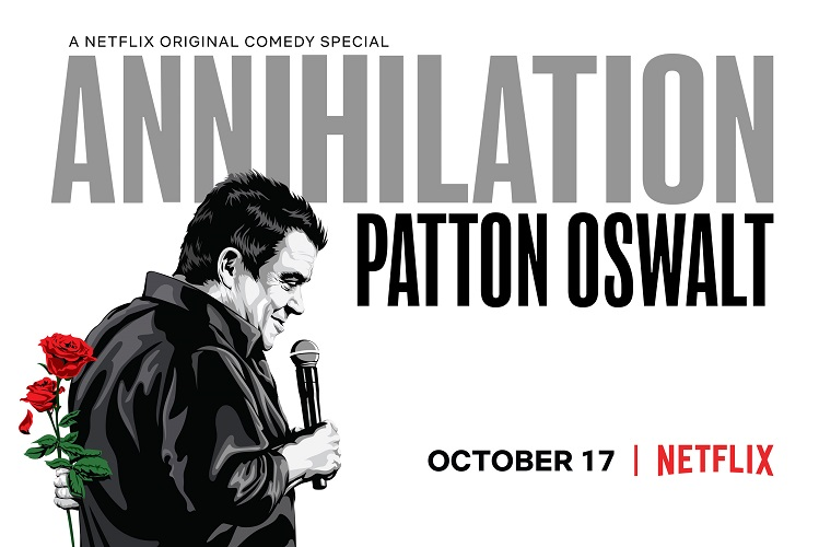 Patton Oswalt Annihilation بوستر