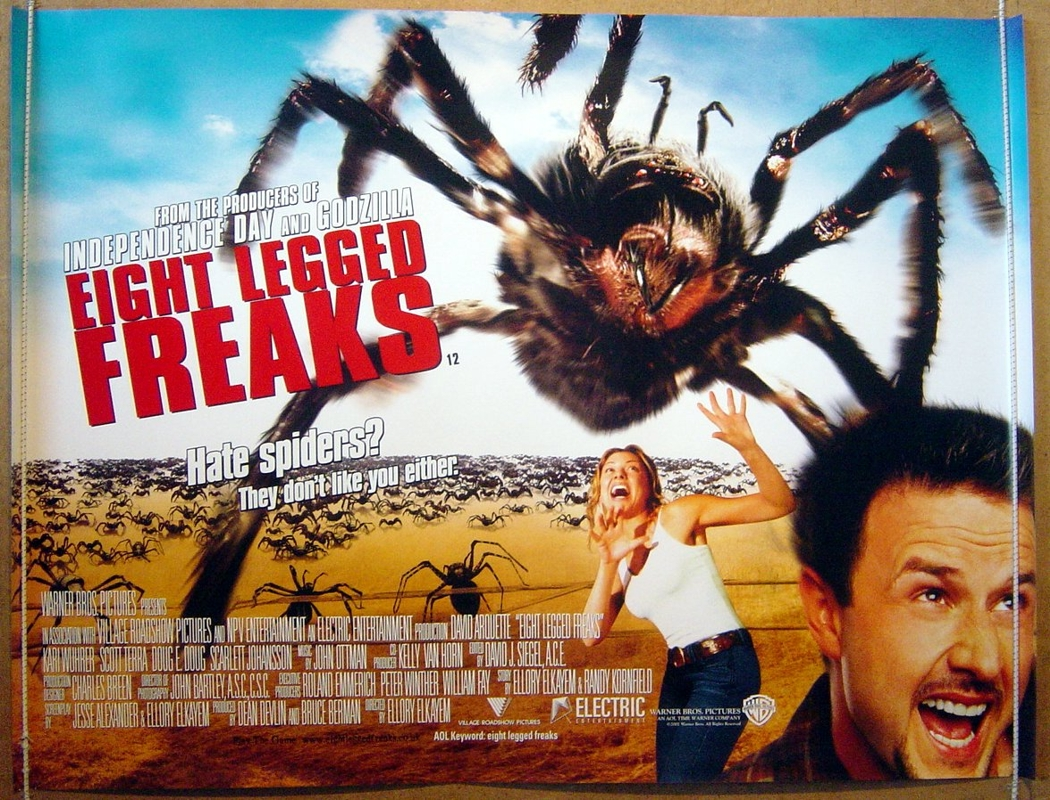 بوستر فيلم Eight Legged Freaks