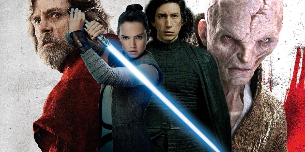 شخصيات فيلم Star Wars: The Last Jedi