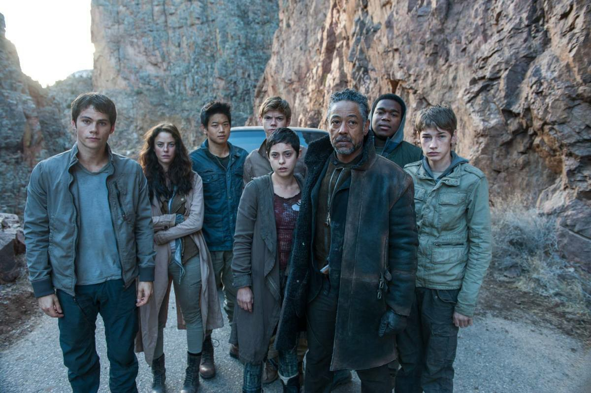 عداء المتاهة - the death cure - توماس ونيوت