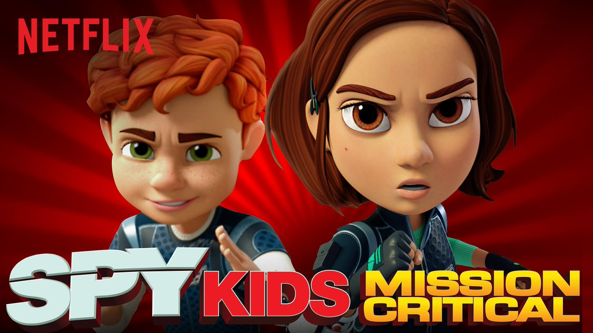أنميشن SPY KIDS: MISSION CRITICAL