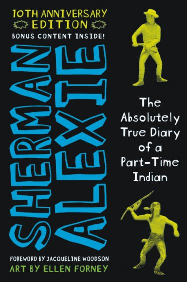كتاب The Absolutely True Diary of a Part-Time Indian