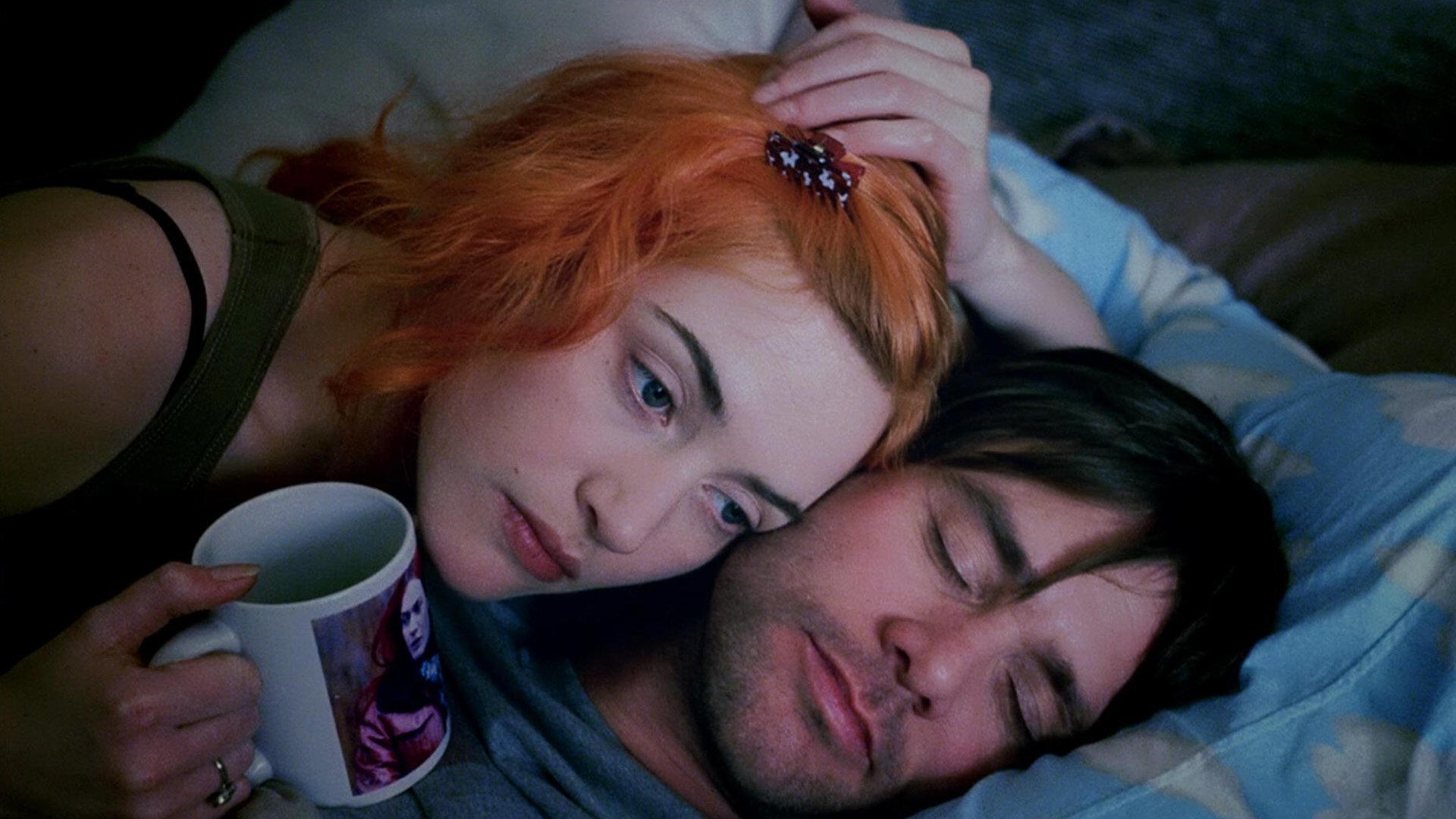 شرح فيلم Eternal Sunshine كيت وينسلت وجيم كاري