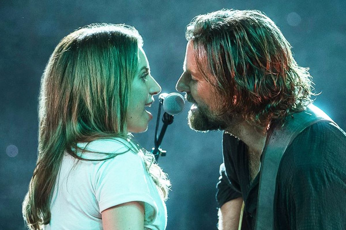 برادلي كوبر ولايدي جاجا فيلم a star is born