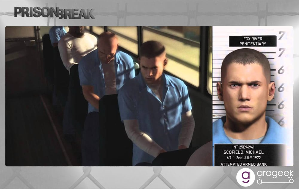 لعبة بريزون بريك Prison Break: The Comspiracy