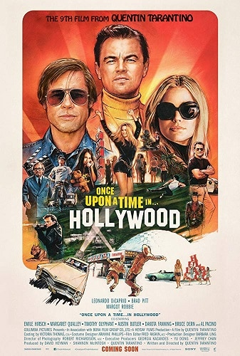 بوستر فيلم Once Upon a Time in Hollywood