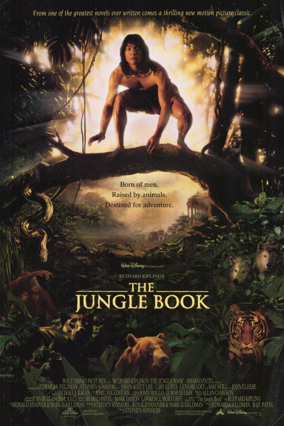 بوستر فيلم The jungle book 1994
