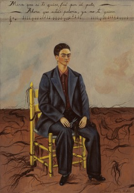 self-portrait with cropped hair 1940