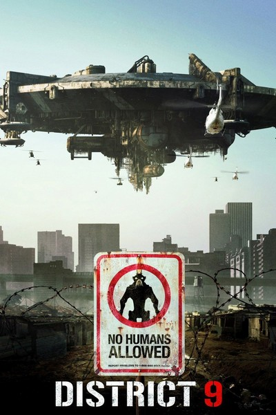 District 9 أفلام خيال علمي -