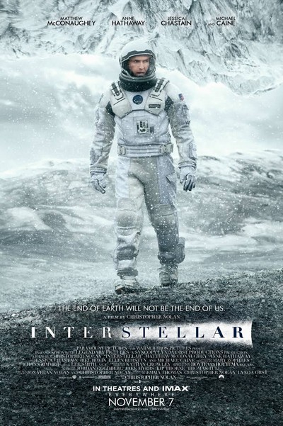 Interstellar أفلام خيال علمي -