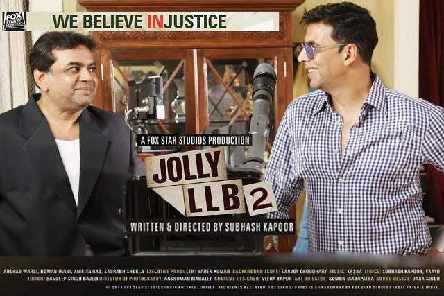بوستر فيلم Jolly LLB 2