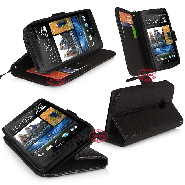 htc one wallet stand case_black_6