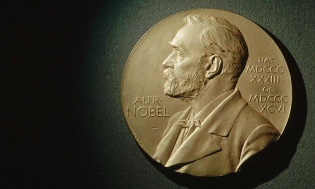 Nobel Peace Prize Bearing Likeness of Alfred Nobel