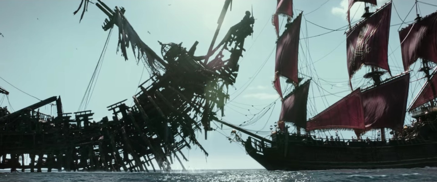 المؤثرات البصرية في فيلم Pirates of the Caribbean: Dead Men Tell No Tales